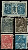 France - YT 270-74 neuf - Neuf