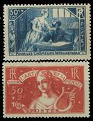 France 1935 - YT 307-08 - Neuf sans charnière