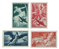 France 1946 - YT PA16-19 neuf