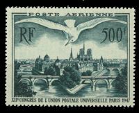 Frankrig - YT PA 20 postfrisk