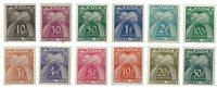 France - YT TX78-89 - Taxe