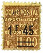 Frankrig pakkeporto YT 88a