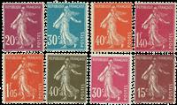 Frankrig - YT 189-96 - Postfrisk