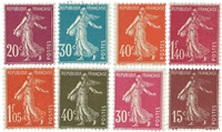 France - YT189-96 neuf