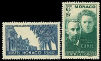 Monaco neuf YT 167-168