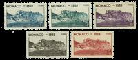 Monaco postfrisk YT 195-199
