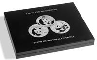 Presentatie cassette voor 20 zilveren Panda munten