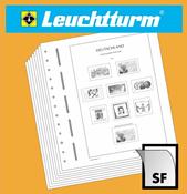 LEUCHTTURM Blankoblätter für Zehnerbogen, Bogenfor