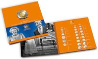 Album presso pour euros Béatrix & Willem-Alexander, florins Béatrix, 2 euros comm. 2013