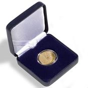 Astuccio NOBILE per monete - diametro 34 mm - Blu