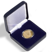 Ecrin Numismatique NOBILE pour pièces jusqu'à Ø 42  mm, bleu