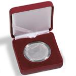 Ecrin Numismatique NOBILE pour pièces jusqu'à Ø 34  mm, rouge