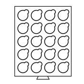 SMART - Møntboks - 20 inddelinger op til 38 mm