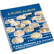 Album numismatique NUMIS pourpièces commémoratives  de 2 euros, Tome 4