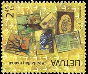 Litauen - Postcrossing - Postfrisk sæt 1v