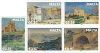 Malte - Peintres célèbres - Série neuve 5v