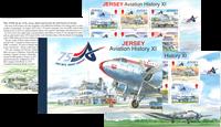 Jersey - Histoire de l'aviation - Carnet de prestige