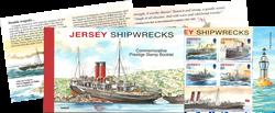 Jersey - Naufrages - Carnet de prestige