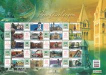 Hongrie - Héritage culturel - Feuilet obl. de timbres P