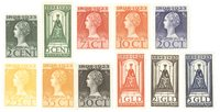 Pays-Bas 1923 - NVPH 121-131 - Neuf