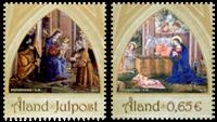 Åland - Julen 2013 - Postfrisk sæt 2v