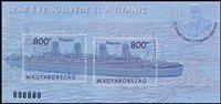 Hongrie - Titanic - Bloc-feuillet neuf