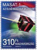 Ungarn - Satellit - Postfrisk frimærke