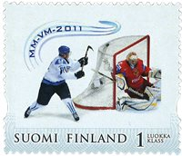 Finland - Ice hockey - Mint stamp