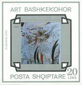 Albanien - Kunst - Postfrisk miniark