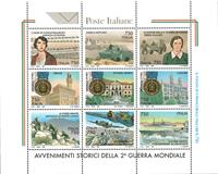 Italien - 2. verdenskrig - Postfrisk miniark