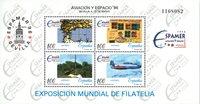 Spanien - Udstilling Espamer - Postfrisk miniark
