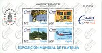 Espagne - Exposition Espamer - Bloc-feuillet neuf