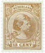 Holland - NVPH 39 - Ubrugt