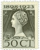 Holland 1923 - NVPH 128 - Ubrugt