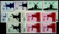 Netherlands 1963 - NVPH 786-790 - Mint - 4 block