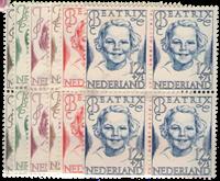Hollanti - NVPH 454-459 - Postituore