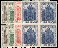 Hollanti 1948 - NVPH 500-503 - Postituore - nelilöinä