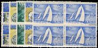 Hollanti 1949 - NVPH 513-517 - Postituore - nelilöinä