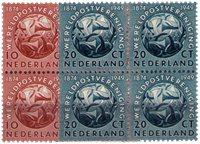 Pays-Bas - 1949 NVPH 542-543 bloc de 4 neuf