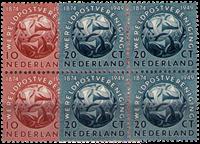 Hollanti 1949 - NVPH 542-543 - nelilöinä