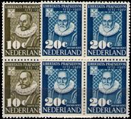 Hollanti - NVPH 561-562 - Postituore - nelilöinä