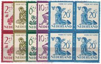 Holland 1950 - 563-567 - Postfrisk - 4-blok