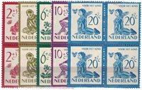 Pays-Bas - 1950 NVPH 563-567 - Bloc de 4 neuf