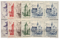 Países Bajos 1951 - NVPH 568-572 - Nuevo - Bloques  of 4