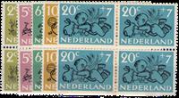 Holland 1952 - NVPH 596-600 - Postfrisk - Block of4