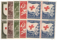 Netherlands 1953 - NVPH 607-611 - Mint - Block of4