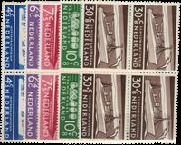 Nederland Zomerzegels 1957 in blok van vier - Nr. 688-692 - Postfris