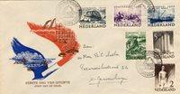 Nederland - Zomer 1950 zonder opschrift op envelop    (nr. E1A) met certific