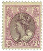 Holland - NVPH 72 - Ubrugt