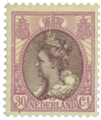 Holland - NVPH 72 - Ubrugt
